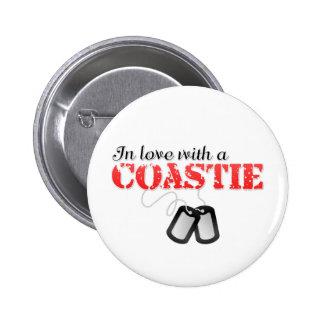 In love with a Coastie Button