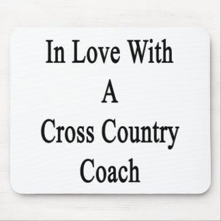 In Love With A Cross Country Coach Mouse Pads