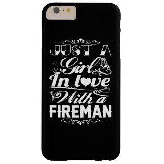 In love with a Fireman Barely There iPhone 6 Plus Case