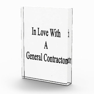 In Love With A General Contractor Awards
