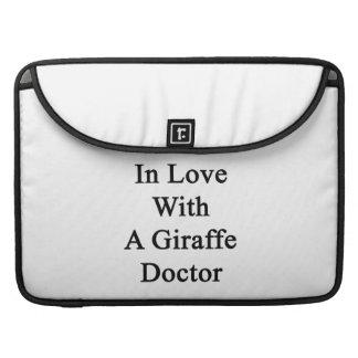 In Love With A Giraffe Doctor MacBook Pro Sleeve