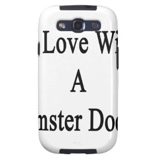 In Love With A Hamster Doctor Samsung Galaxy S3 Cover