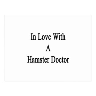 In Love With A Hamster Doctor Postcards