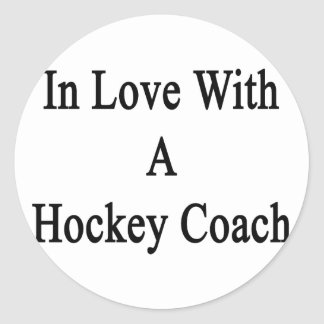 In Love With A Hockey Coach Stickers