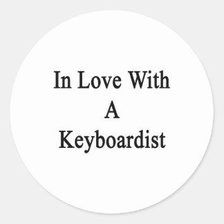 In Love With A Keyboardist Sticker
