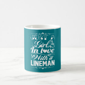In love with a Lineman Coffee Mug
