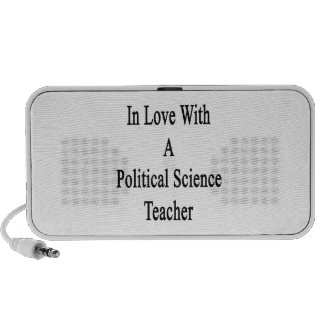 In Love With A Political Science Teacher Portable Speakers