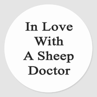 In Love With A Sheep Doctor Sticker