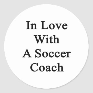 In Love With A Soccer Coach Sticker
