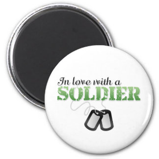 In love with a soldier magnet
