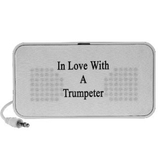In Love With A Trumpeter iPhone Speakers