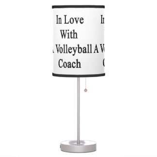 In Love With A Volleyball Coach Desk Lamp