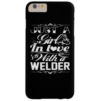 In love with a Welder Barely There iPhone 6 Plus Case