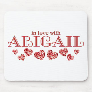 In love with Abigail Mouse Pad