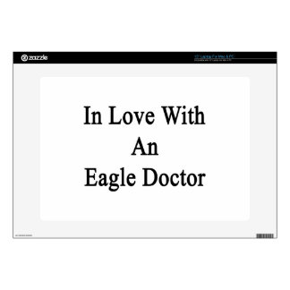 In Love With An Eagle Doctor Laptop Decals