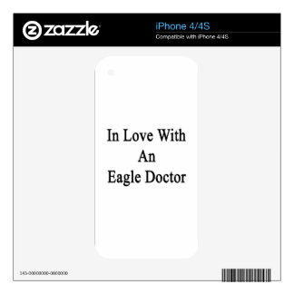 In Love With An Eagle Doctor Decal For The iPhone 4S