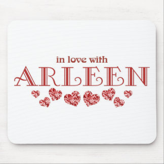 In love with Arleen Mouse Pad