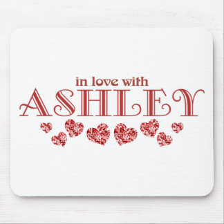In love with Ashley Mouse Pad