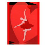 In Love With Ballet Postcards