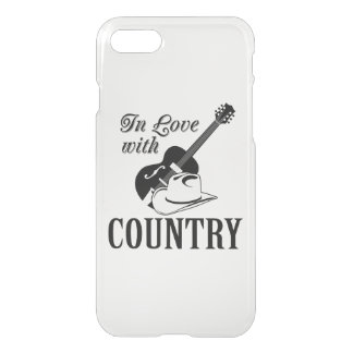 In love with country iPhone 8/7 case