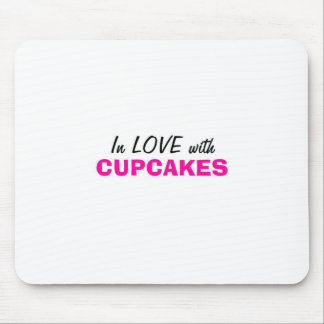 In Love with Cupcakes Mouse Pads