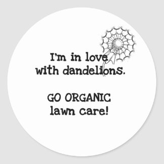 In Love  With Dandelions Tshirts and Gifts Stickers
