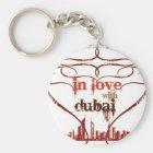 In Love with Dubai Keychain