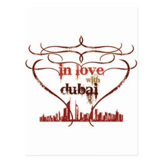 In Love with Dubai Postcard