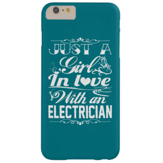 In love with Electrician Barely There iPhone 6 Plus Case