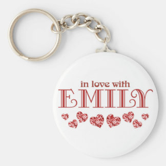 In love with Emily Keychain