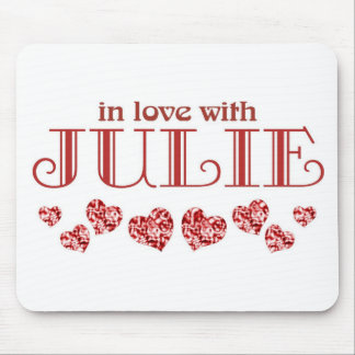 In love with Julie Mouse Pad