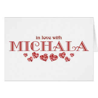 In Love with Michala Card