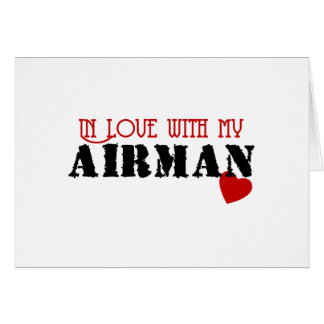 In Love With My Airman Card
