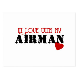 In Love With My Airman Postcard
