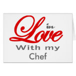 In love with my Chef Card