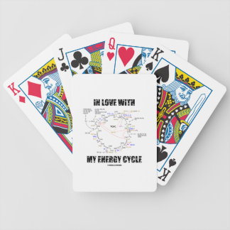 In Love With My Energy Cycle (Krebs Cycle) Bicycle Playing Cards