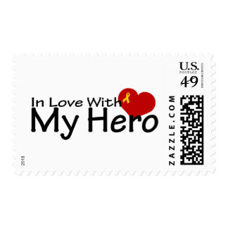In Love With My Hero Postage