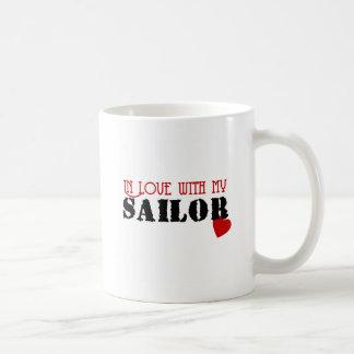 In Love With My Sailor Coffee Mug
