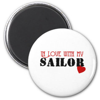 In Love With My Sailor Magnet