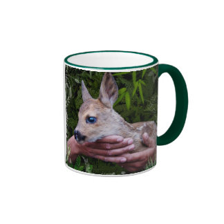 In Love with Nature Ringer Mug