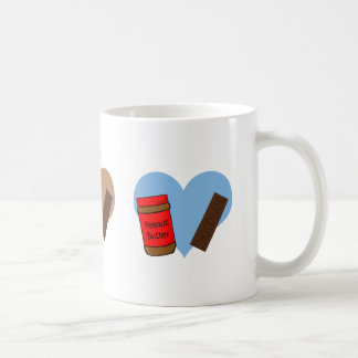 In love with Peanut Butter and Chocolate Coffee Mug