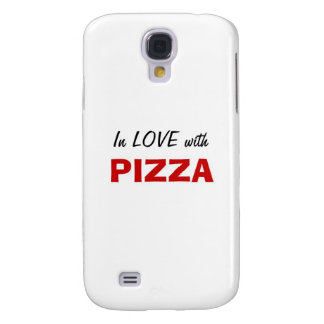 In Love with Pizza Samsung Galaxy S4 Case
