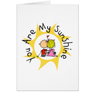 In Love You Are My Sunshine Greeting Card