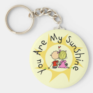 In Love You Are My Sunshine Keychain