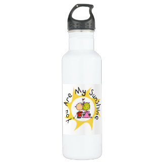 In Love You Are My Sunshine Stainless Steel Water Bottle