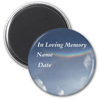 In Loving Memory 2 Inch Round Magnet
