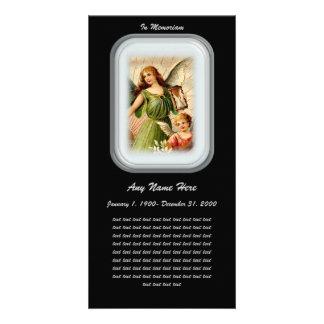In Loving Memory= Angels Card