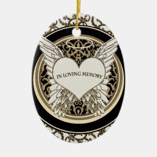 In Loving Memory Ceramic Ornament