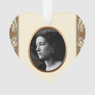 In Loving Memory Custom Photo Memorial Ornament 3