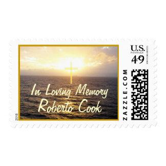 In Loving Memory-Death-Sorrow Postage